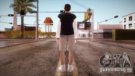 Jimmy Silverman для GTA San Andreas третий скриншот