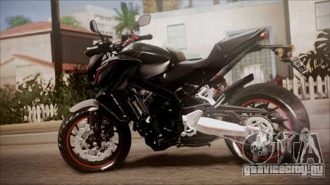 Honda CB650F Pretona для GTA San Andreas вид слева