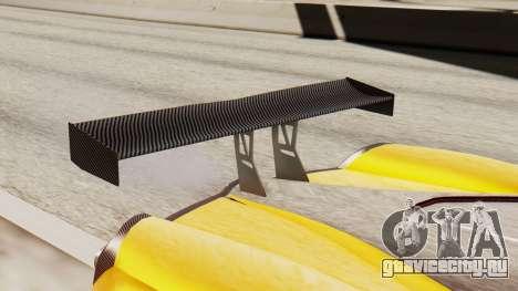 Pegassi Osyra Full Extras для GTA San Andreas вид сзади