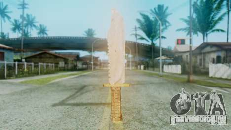 Red Dead Redemption Knife для GTA San Andreas