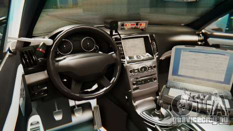 Ford Taurus Iraq Police v2 для GTA San Andreas вид сзади