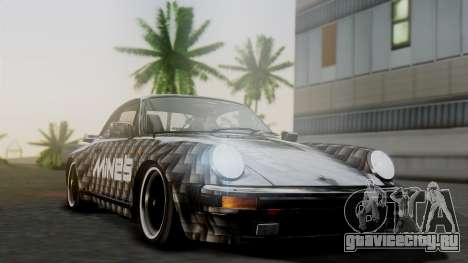 Porsche 911 Turbo (930) 1985 Kit A для GTA San Andreas вид сбоку