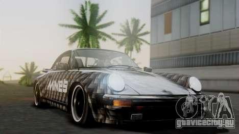 Porsche 911 Turbo (930) 1985 Kit A для GTA San Andreas вид сбоку