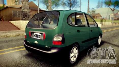Renault Megane Scenic для GTA San Andreas вид слева