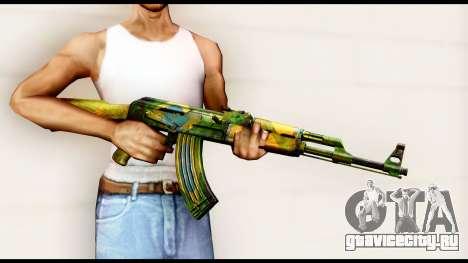 Brasileiro AK-47 для GTA San Andreas третий скриншот