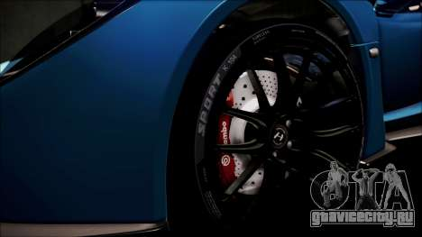 Hennessey Venom GT 2012 U.S.A American для GTA San Andreas вид сбоку