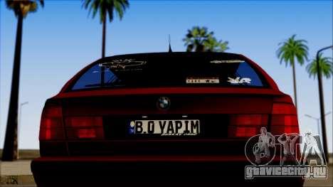 BMW M5 Touring E34 для GTA San Andreas вид справа