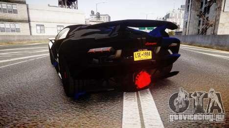 Lamborghini Sesto Elemento 2011 для GTA 4 вид сзади слева