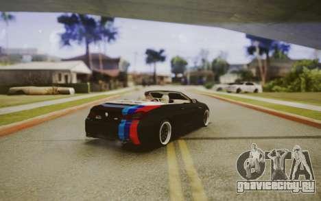 BMW M6 Cabrio для GTA San Andreas вид слева