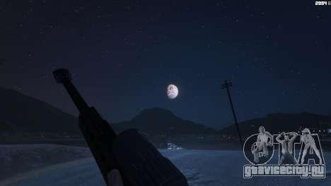Majoras Mask Moon для GTA 5 второй скриншот