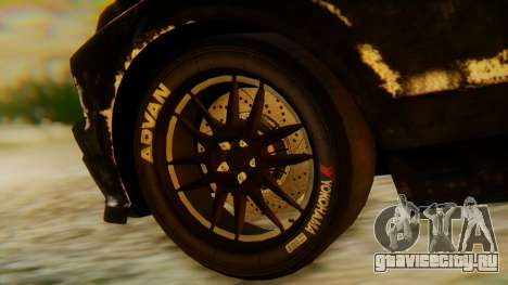 Shelby GT500 Death Race для GTA San Andreas вид справа