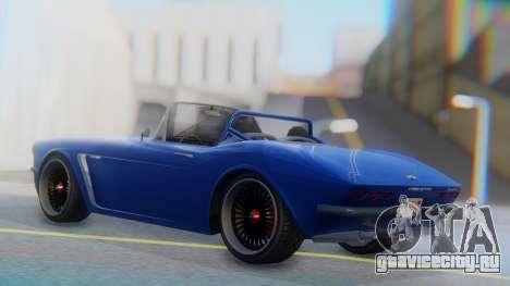 Invetero Coquette BlackFin Convertible для GTA San Andreas вид слева