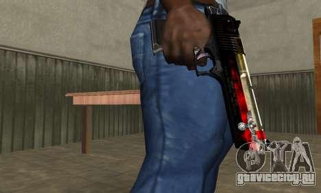 Totenkopf Deagle для GTA San Andreas