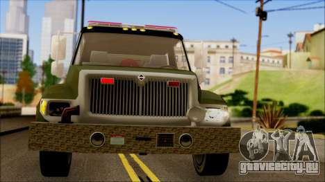 SANG Combat Rescue International для GTA San Andreas вид изнутри