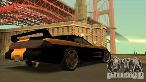 ZR-350 Road King для GTA San Andreas вид изнутри