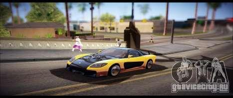 Temfan ENB для GTA San Andreas третий скриншот