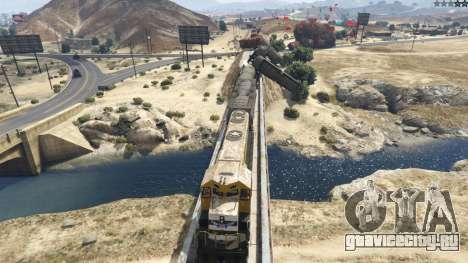Improved freight train 3.8 для GTA 5 пятый скриншот