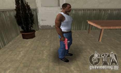 Red Chest Deagle для GTA San Andreas третий скриншот