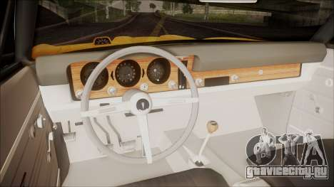 Pontiac GTO 1968 для GTA San Andreas вид сзади