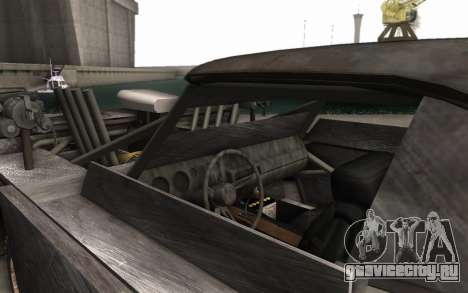 Dodge Charger Infernal Bulldozer для GTA San Andreas вид сзади