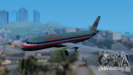 Airbus A320-200 American Airlines (Old Livery) для GTA San Andreas