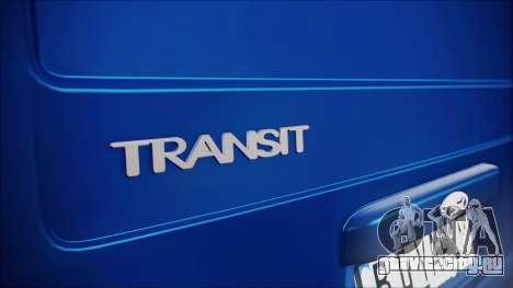 Ford Transit B.O. Yapım для GTA San Andreas вид сзади