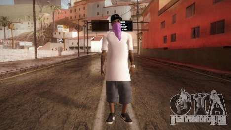 East Side Ballas Member для GTA San Andreas второй скриншот