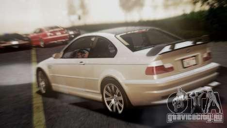 BMW M3 GTR Street Edition для GTA San Andreas вид слева