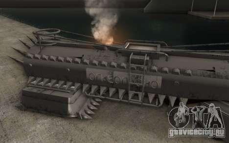Прицеп для грузовика Mad Max для GTA San Andreas вид слева