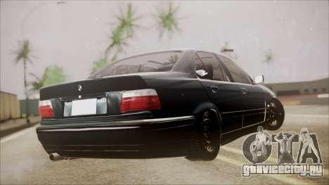 BMW M5 E36 для GTA San Andreas вид слева