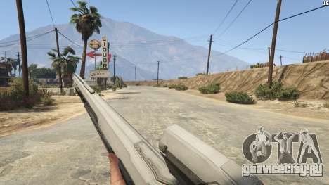 Halo 5 Light Rifle 1.0.0 для GTA 5 шестой скриншот