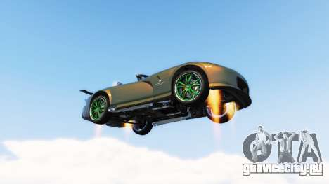 Vehicles Jetpack v1.2.2 для GTA 5