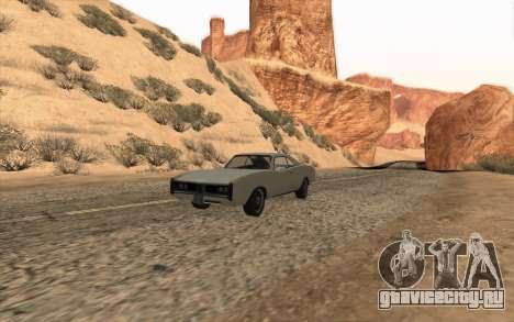 Imponte Dukes SA Style для GTA San Andreas вид изнутри