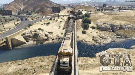 Improved freight train 3.8 для GTA 5