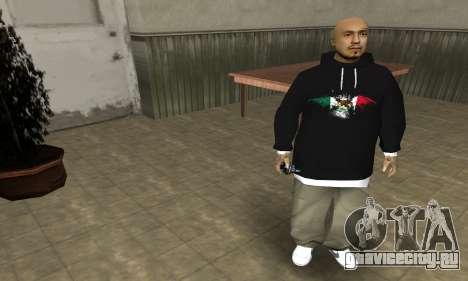 Rifa Skin First для GTA San Andreas третий скриншот