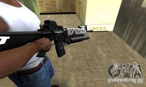 Modern Black M4 для GTA San Andreas