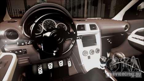 Subaru Impreza WRX STI B.O. Yapım для GTA San Andreas вид справа