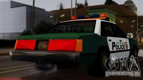 VCPD Cruiser для GTA San Andreas вид сзади слева