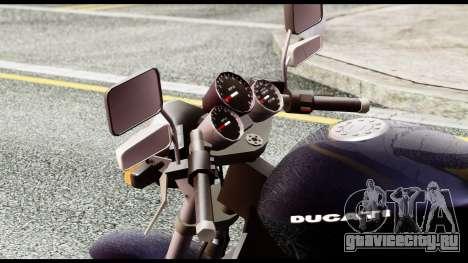 Ducati FCR-900 v4 для GTA San Andreas вид сзади