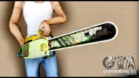 Brasileiro Chainsaw для GTA San Andreas третий скриншот