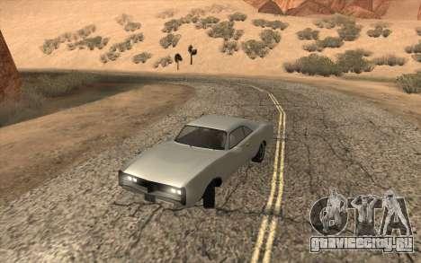 Imponte Dukes SA Style для GTA San Andreas вид сзади слева
