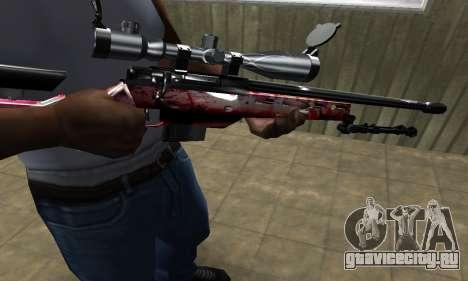 Redl Sniper Rifle для GTA San Andreas