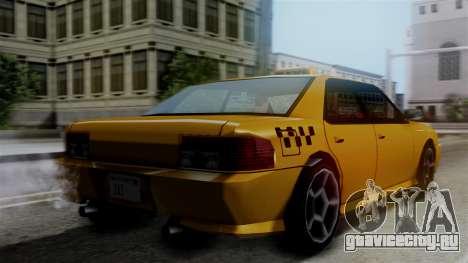 Sultan Taxi для GTA San Andreas вид слева