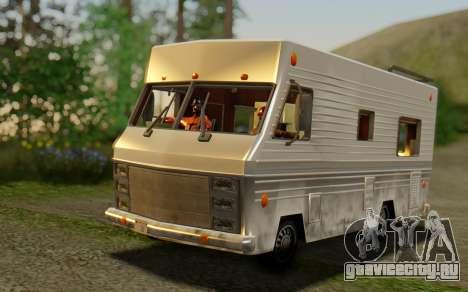 Winnebago Brave 1979 для GTA San Andreas
