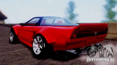 Honda NSX для GTA San Andreas вид слева