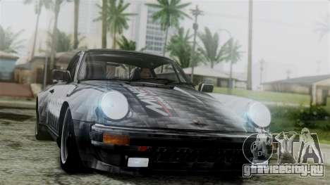 Porsche 911 Turbo (930) 1985 Kit C для GTA San Andreas вид снизу