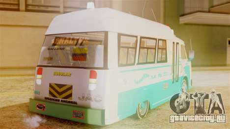 JAC Microbus для GTA San Andreas вид слева