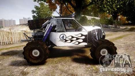 Buggy Fireball для GTA 4 вид слева