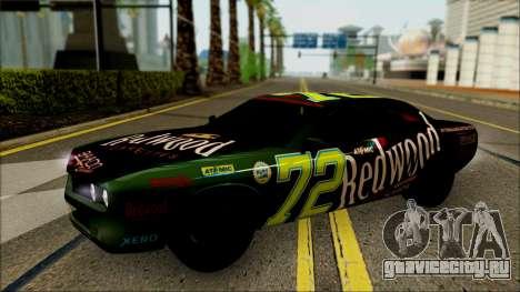 GTA 5 Bravado Gauntlet Redwood HQLM для GTA San Andreas вид сзади