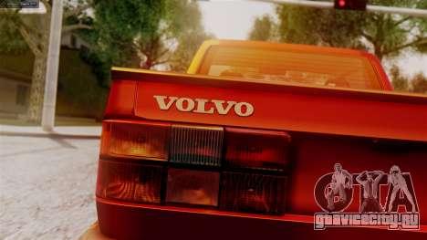 Volvo 940 A-traktor для GTA San Andreas вид сзади слева